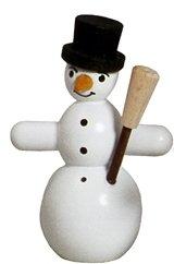 Rudolphs Schatzkiste Miniaturfigur Schneemänner mit Zylinder Höhe ca. 5cm NEU Holzfigur...