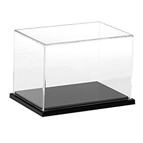 B Blesiya Acryl Vitrinen Display Case Box Einzelvitrine Große Schutzhülle für Actionfiguren...