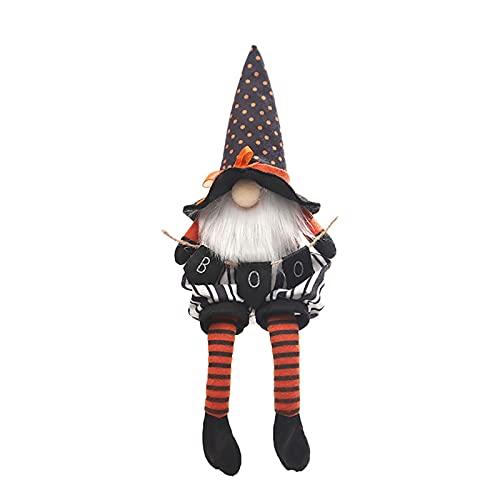 waysad Ostern Weihnachten Deko Halloween Zwerg Plüsch Handgemachte,Süße Weihnachten Figur aus...