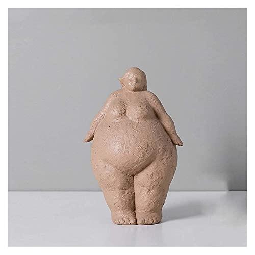 WQQLQX Statue Yoga Figur Skulptur Dekoration Statue Abstrakte Kunstfiguren Dekoration Handwerk...