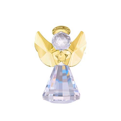 LONGWIN Kristallengel Figur Dekorative Glasornamente Weihnachten Sammlerstück Geschenk für Frauen