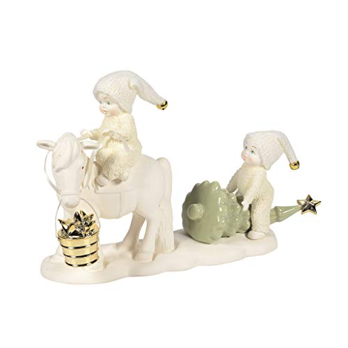 Department 56 Snowbabies Classics Frosty Frolics Horse Drawn Christmas Figur, Mehrfarbig, 6.3 Inch