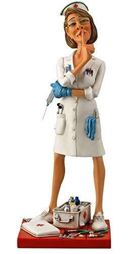 Unbekannt Guillermo Forchino Die Krankenschwester, 24cm, Kunstharz, Mehrfarbig, 20x 20x 24cm