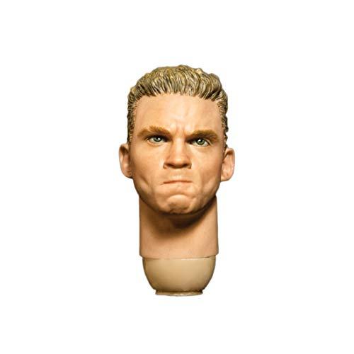 Batop 1/6 Männlich Kopf Sculpt für 12 Zoll Action Figur Männlich Soldat Actionfigur Modell - Wut