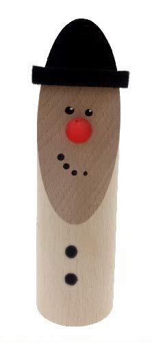 Rudolphs Schatzkiste Weihnachtsfigur Schneemann Höhe 14 cm NEU Miniatur Holzfigur Weihnachtsdeko