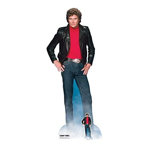 Star Cutouts SC1381 Michael David Hasselhoff Knight Rider Pappaufsteller in Lebensgröße, mit...