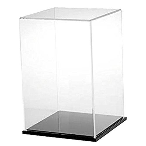 Baoblaze Transparent Schaukasten Acryl Vitrine Display Case Staubdicht für...