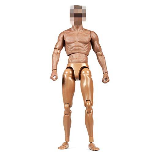 Batop Figur Männlich, 1/6 Action Figure Mann Körper Figuren Männlich Body für Soldat Modell,...