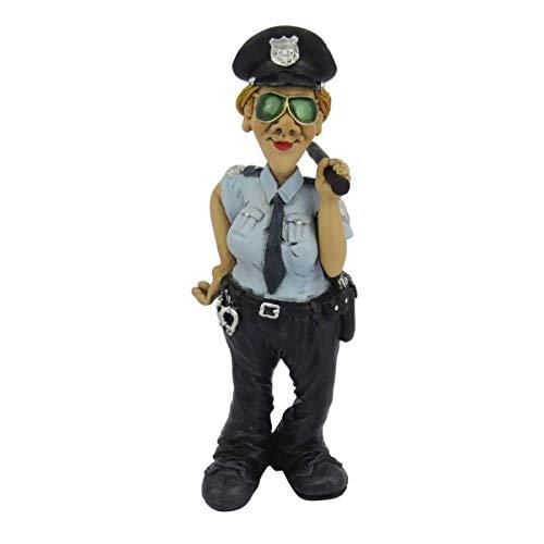 Funny Job - Polizistin mit Stock und Sonnenbrille
