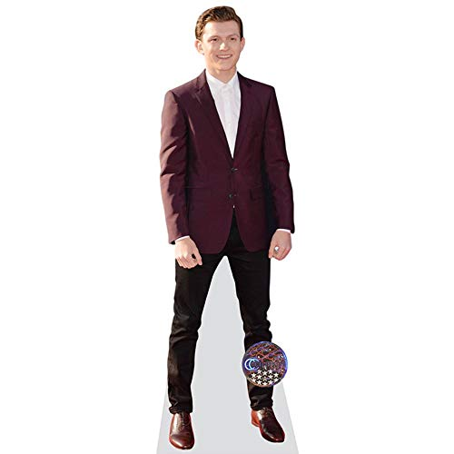 Celebrity Cutouts Tom Holland (Maroon Blazer) Pappaufsteller lebensgross