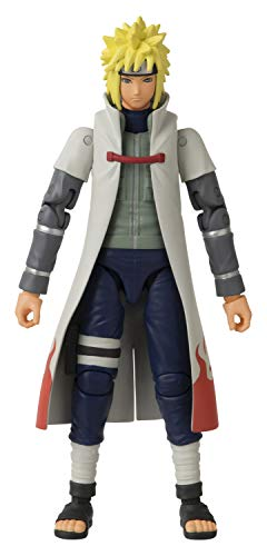 BANDAI Anime Heroes Naruto Namikaze Minato 6.5' Action Figure