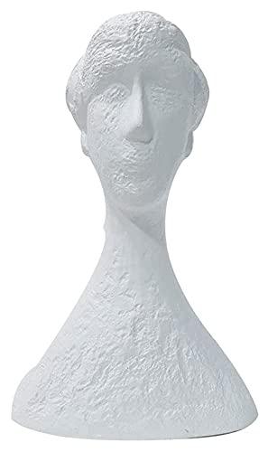 WQQLQX Statue Abstrakte Figur Statue Skulptur Kunstfiguren Dekoration Zubehör Desktop Ornamente...