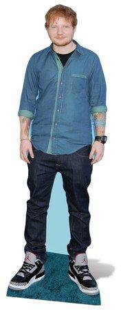 Unbekannt Ed Sheeran 171cm aus Karton, Lebensgröße