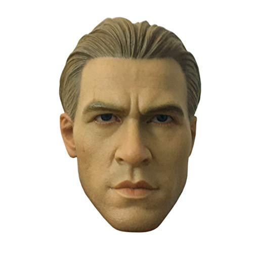 Batop Männlich Kopf Sculpt für 1/6 Action Figur Männlich und Soldat Actionfigur Modell - Mit...