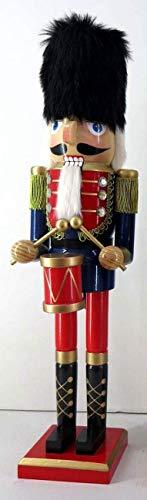Jinju 78870 Nussknacker 50 cm für Geschenke, Weihnachten, Dekoration