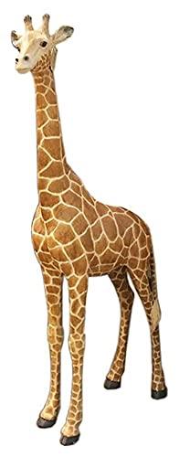YANRUI Giraffe Statue Tier Skulptur Outdoor Garten Dekoration Ornamente Große Tier Ornamente...