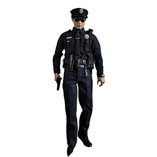 Delili 1/6 Skala Sammler Male Full Set Patrol Polizei Austin Action-Figur Modell Spielzeug für Fans...