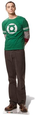 US-Way e.K. Pappaufsteller Dr. Sheldon Cooper - Big Bang Theory Aufsteller Standup Figur...