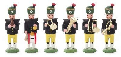 Rudolphs Schatzkiste Miniaturfiguren Miniatur-Bergaufzug Bergkapelle (6) Höhe 40mm NEU Holzfigur...