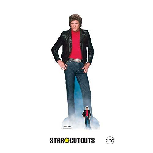 Star Cutouts SC1381 Michael David Hasselhoff Ritter Reiter in Lebensgröße, inklusive...