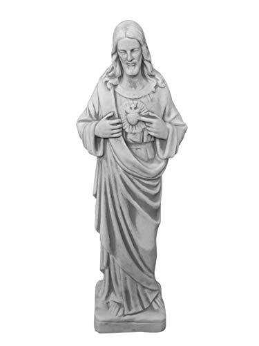 gartendekoparadies.de Herrliche große ChristusStatue Heilige Vater Jesus aus Steinguss frostfest