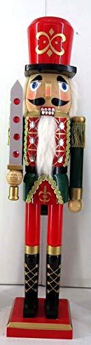 Smart Deko 78870 Deko Nussknacker 50 cm für Geschenke, Weihnachten, Dekoration