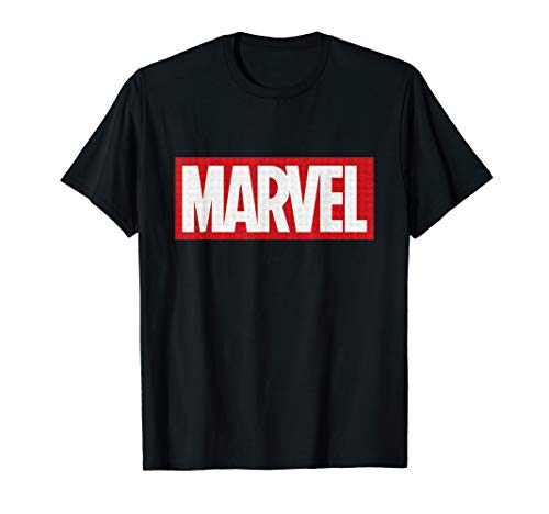 Marvel Classic Logo with Icons T-Shirt