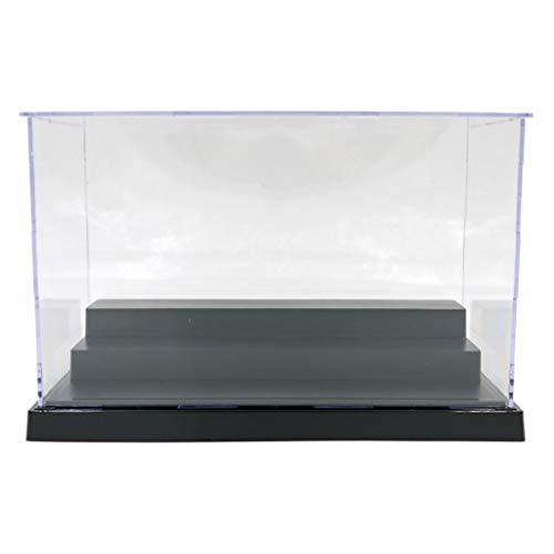 HomeDecTime Transparent Schaukasten Acryl Vitrine Display Case Staubdicht für Modellautos /...