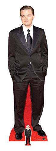 Star Cutouts Ltd Leonardo Dicaprio Cut Out, Pappe, Mehrfarbig, 183 x 54 x 183 cm