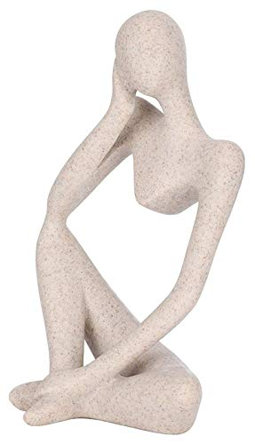 WQQLQX Statue Dekorative Figur Skulptur Abstrakte Kunstfiguren Harz Handwerk Ornamente Büro...