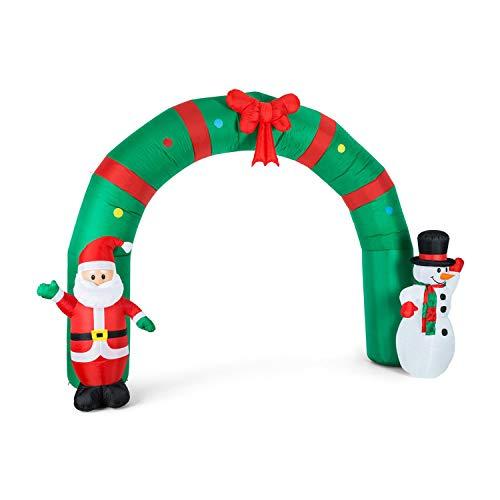 oneConcept Merry Welcome - Weihnachtsdekoration, Weihnachtsbeleuchtung, LED Beleuchtung, großer...