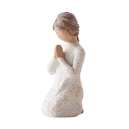 Willow Tree 27158 Figur Gebet des Friedens, 3,8 x 3,8 x 10,2 cm