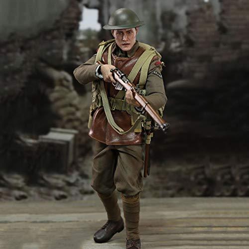 MXUS British Army Infanterie Actionfiguren 1/6 Umweltschutz PVC Spielzeug Statue für Haus...