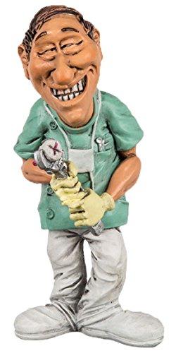 Bada Bing Figuren Berufe Zahnarzt Funny Job Witzig Geschenk Deko Examen zur Prüfung 813