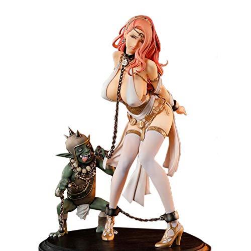 Bataop 1/6 Anime Figuren Model Kit, unbewegliche PVC Figur Sammler Spielzeug für Anime-Fans und...