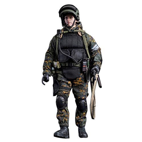 Mecotecn 1/12 Soldat Figur, 5.9 Zoll Soldaten Spielzeug Figuren Militär Actionfiguren Modell -...