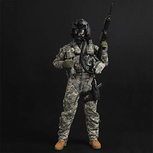 1/6 USAAF Soldat Action Figuren Army Aviation Pilot Model Statuen Hochwertiges Umweltschutz-PVC