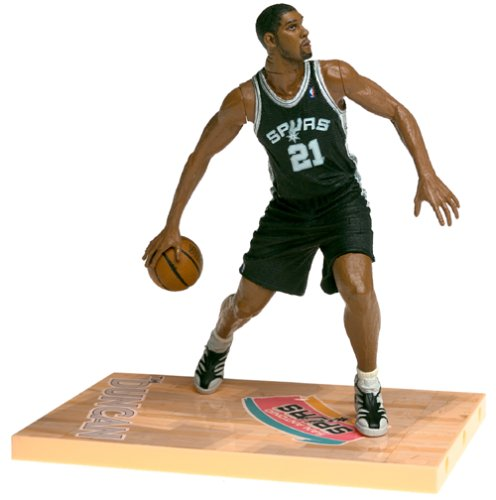 McFarlane NBA Series 1 TIM DUNCAN #21 - San Antonio Spurs Figur