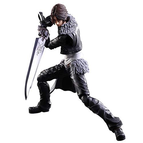 Siyushop Dissidia Final Fantasy Play Art Kai: Squall Leonhart Actionfigur - Ausgestattet Mit Waffen...