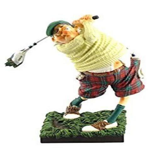 Unbekannt Guillermo Forchino FO84002Figur der Golfspieler, Kunstharz, Mehrfarbig, 20x 10x...