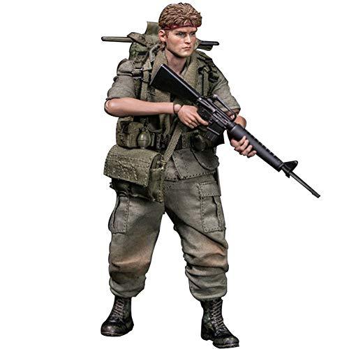 1/12 Armee Der Vereinigten Staaten Soldat Action Figuren Modell Militär Statuen Nachbildungen...