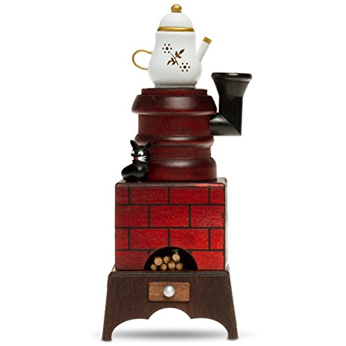 Sikora RM-E Räuchermännchen aus Holz Räucherofen mit Katze, Farbe/Modell:E01 braun/rot -...