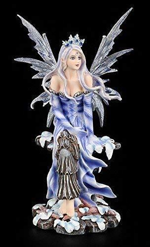 Elfen Figur - Snow Flake mit Elfenflügeln Klein | Fantasy Figur, Handbemalt