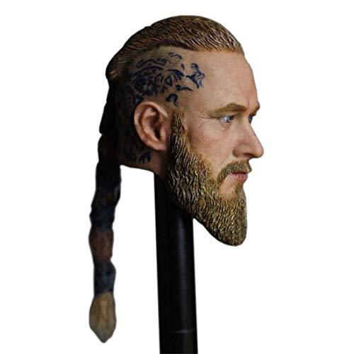 Batop Männlich Kopf Sculpt für 1/6 Action Figur Männlich und Soldat Actionfigur Modell - Großer...