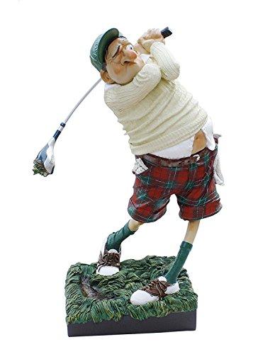 The Golfer Golfspieler von Guillermo Forchino Witzige sehr detailreiche Sportfigur