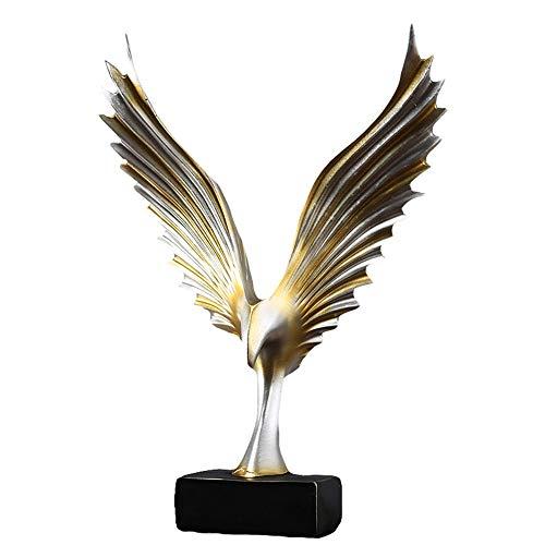 HPDOM Wohnzimmer Dekoration, Adler Statue, Abstrakte Skulptur, Geeignet FüR Schlafzimmer, Studie,...