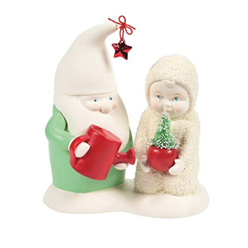 Department 56 Snowbabies Classics Christmas Memories Home Grown GNOME Figur, Mehrfarbig, 4.72 Inch