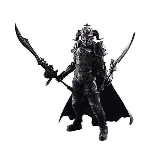 Siyushop Final Fantasy: Gabranth Play Arts Kai Actionfigur - Ausgestattet Mit Waffen Und...