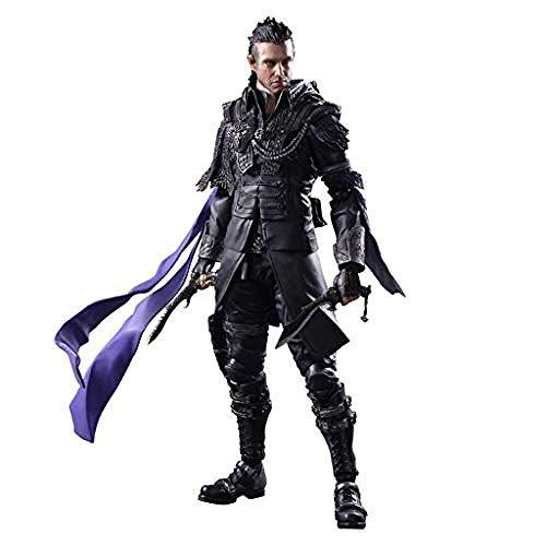 ASDCXZ Kingsglaive Final Fantasy XV Nyx Ulric spielt A Arts Kai Action-Figur, ausgestattet mit...