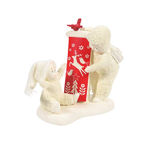 Department 56 Snowbabies Classics Christmas Memories Baby's First Sled Figur, Mehrfarbig, 4.33 Inch